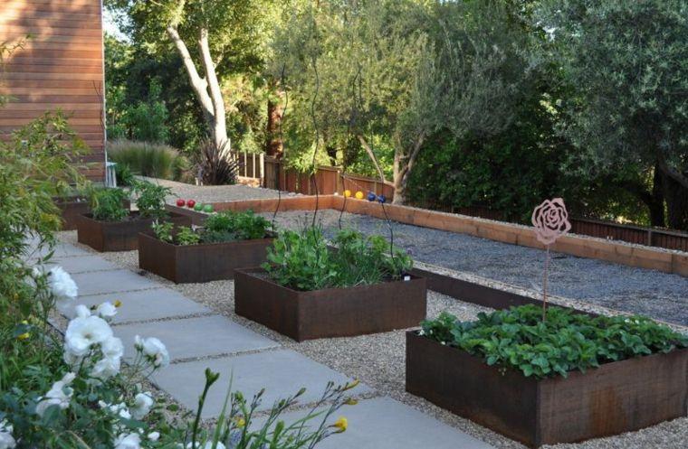 Jardineras y macetas - algunas ideas interesantes - Загород - jardines modernos