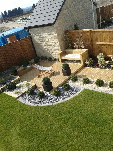 Low maintenance garden. Ideal.x
