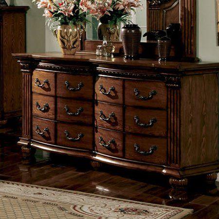 Furniture Of America Cm7738d Bellagrand Dresser Home Showroom