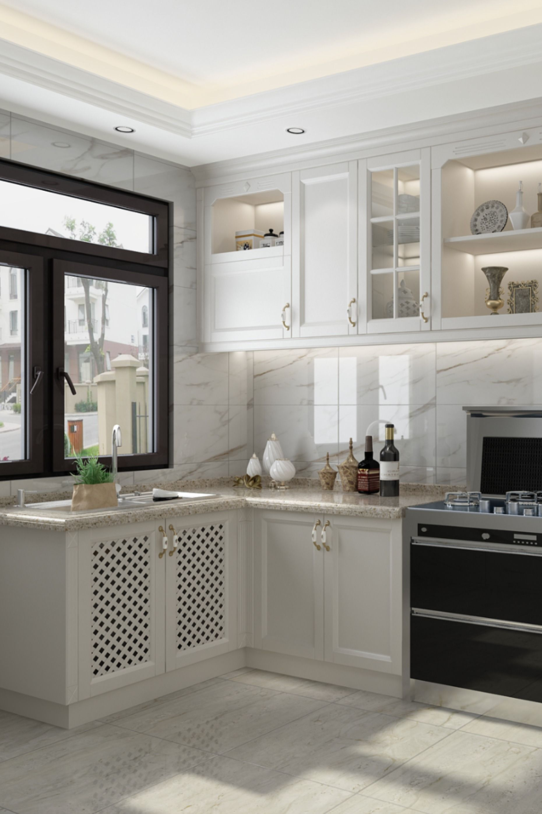 Best China Pvc Blister Kitchen Cabinet Kitchen Cabinet Styles Small Kitchen Decor Kitchen Cabinets