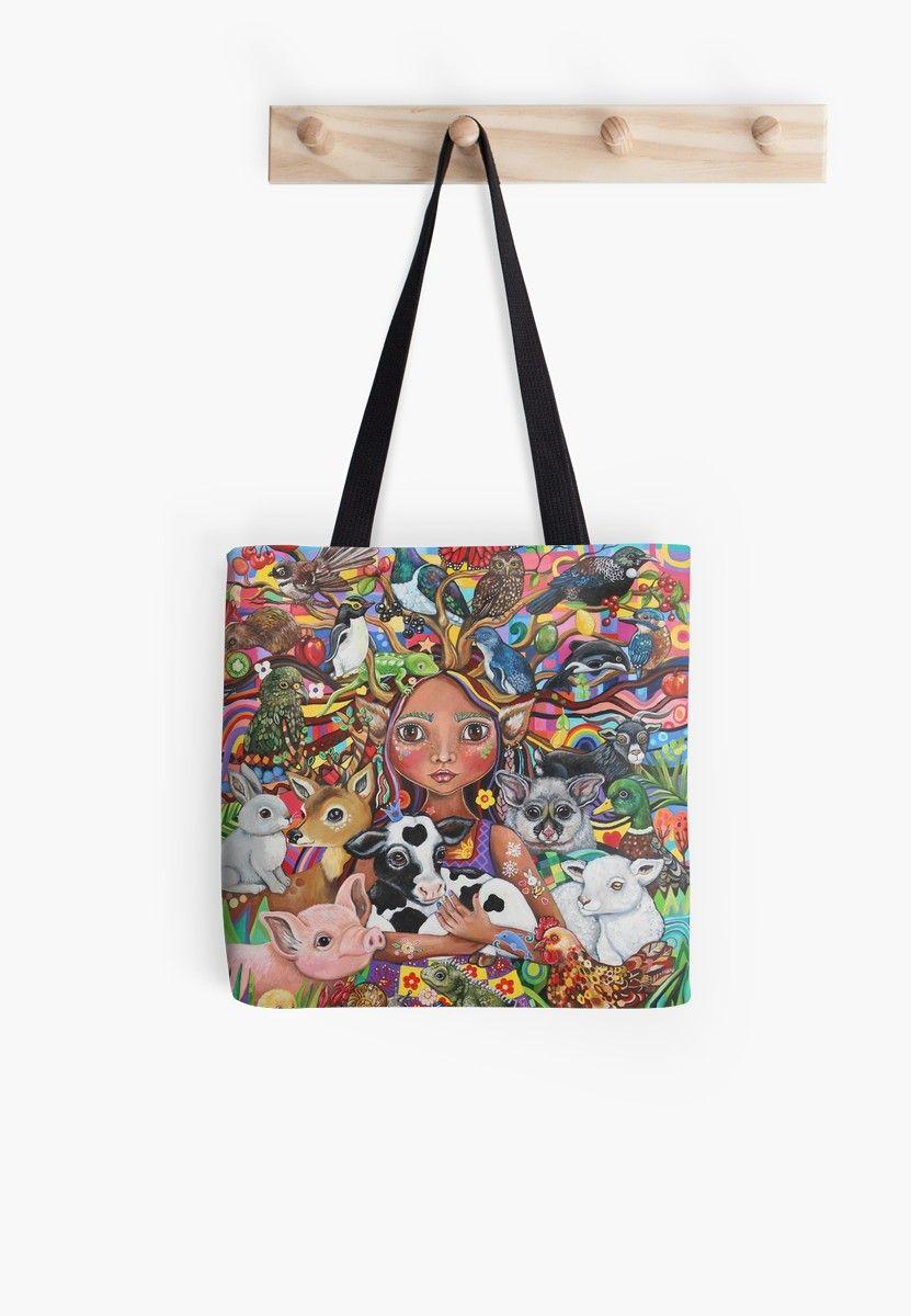 Download The Guardian Tote Bag Tote Bag Handpainted Bags Bags