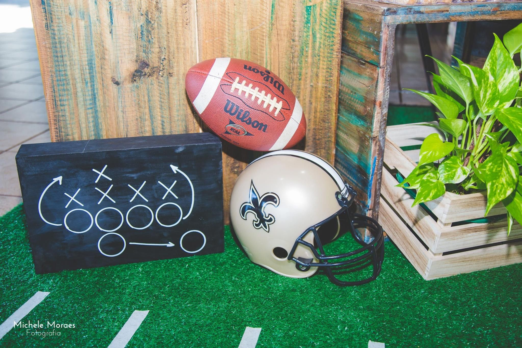tailgate decorations themed decor football fun party squared