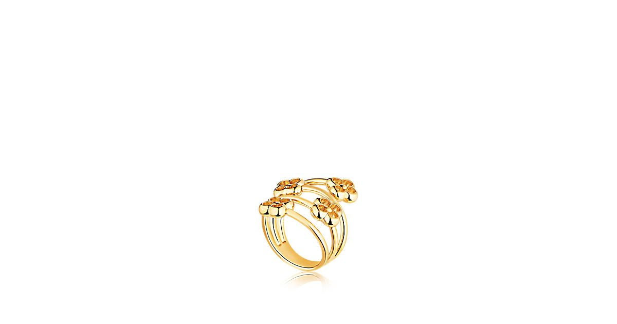 Bague flower full timeless ring luxury jewelry louis