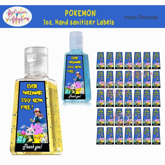 Pokemon Instant Download 1 Oz Hand By Preciouscelebration On Etsy