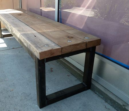 Magnificent Blacks Farmwood Custom Builds Reclaimed Wood Benches For Machost Co Dining Chair Design Ideas Machostcouk