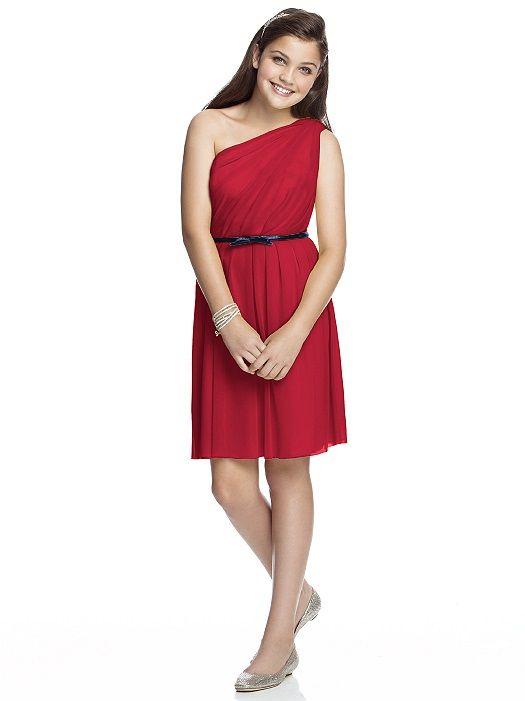 Junior Bridesmaid Dress JR524 http://www.dessy.com/dresses/junior ...