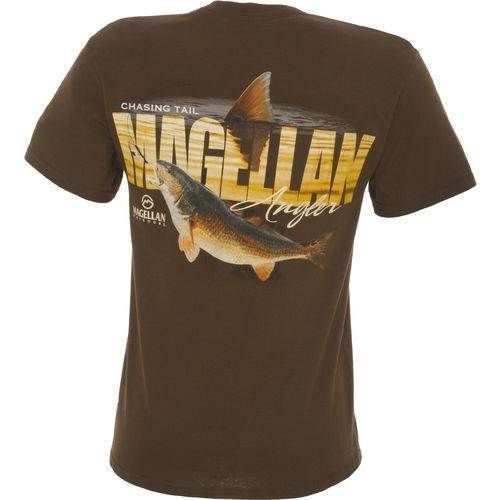 Redfish Red Drum Fish Mens Soft T Shirt