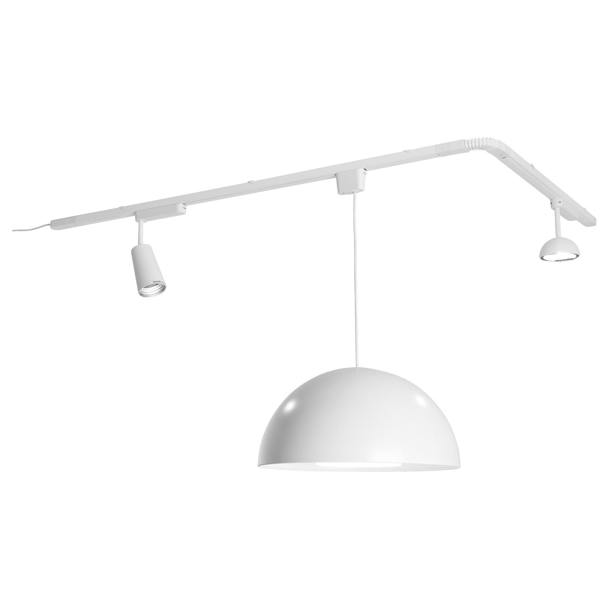 IKEA 365+ SÄNDA rail - IKEA Kun je combineren met 2 verschillende spots,  gericht