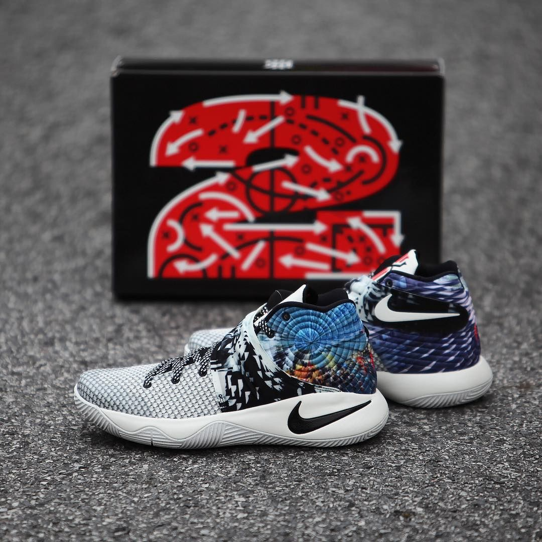 Explore Nike, For Sale, and more! Nike-Kyrie-2-Effect-Multicolor-Black -Sail-For-