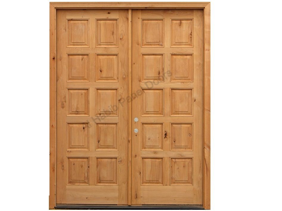 Pure Wooden Ten Panel Main Double Door Pid006 Main Doors Design Door Designs Product Design Wooden Double Doors Main Door Design Double Doors Interior