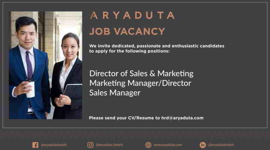 Aryaduta Job Vacancy July Dengan Gambar