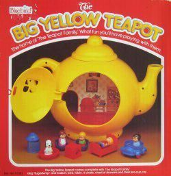 Another reason to miss the decade. The Big Yellow Teapot ...