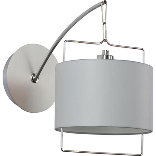 Passion Satin Nickel / Polished Chrome One-Light Sconce