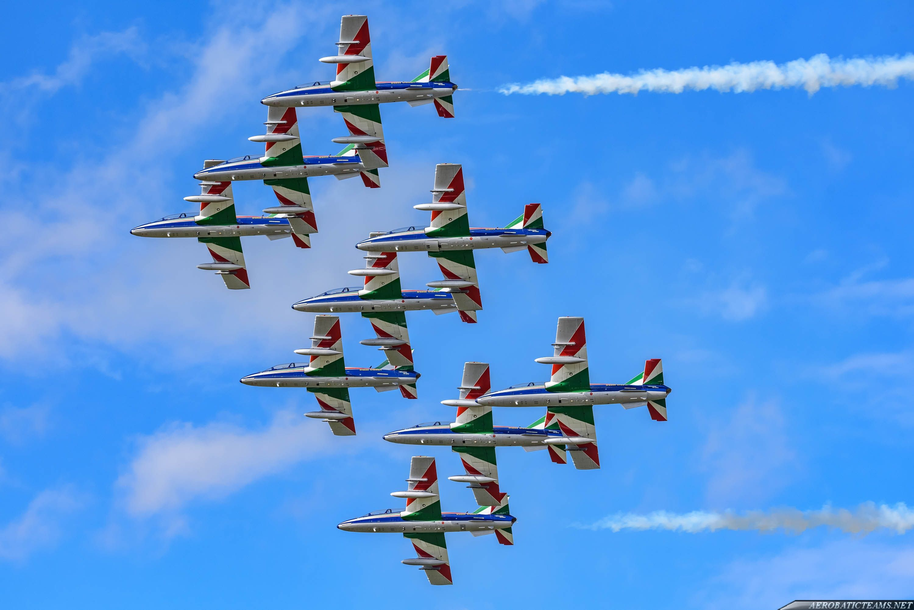 Frecce Tricolori 2018 schedule and airshows Outdoor