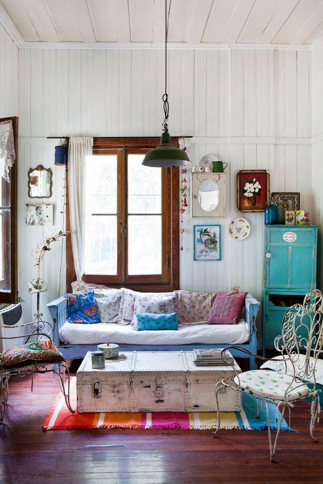 Deco Salon Recup deco salon vintage, recup : notre inspiration tendance | volets