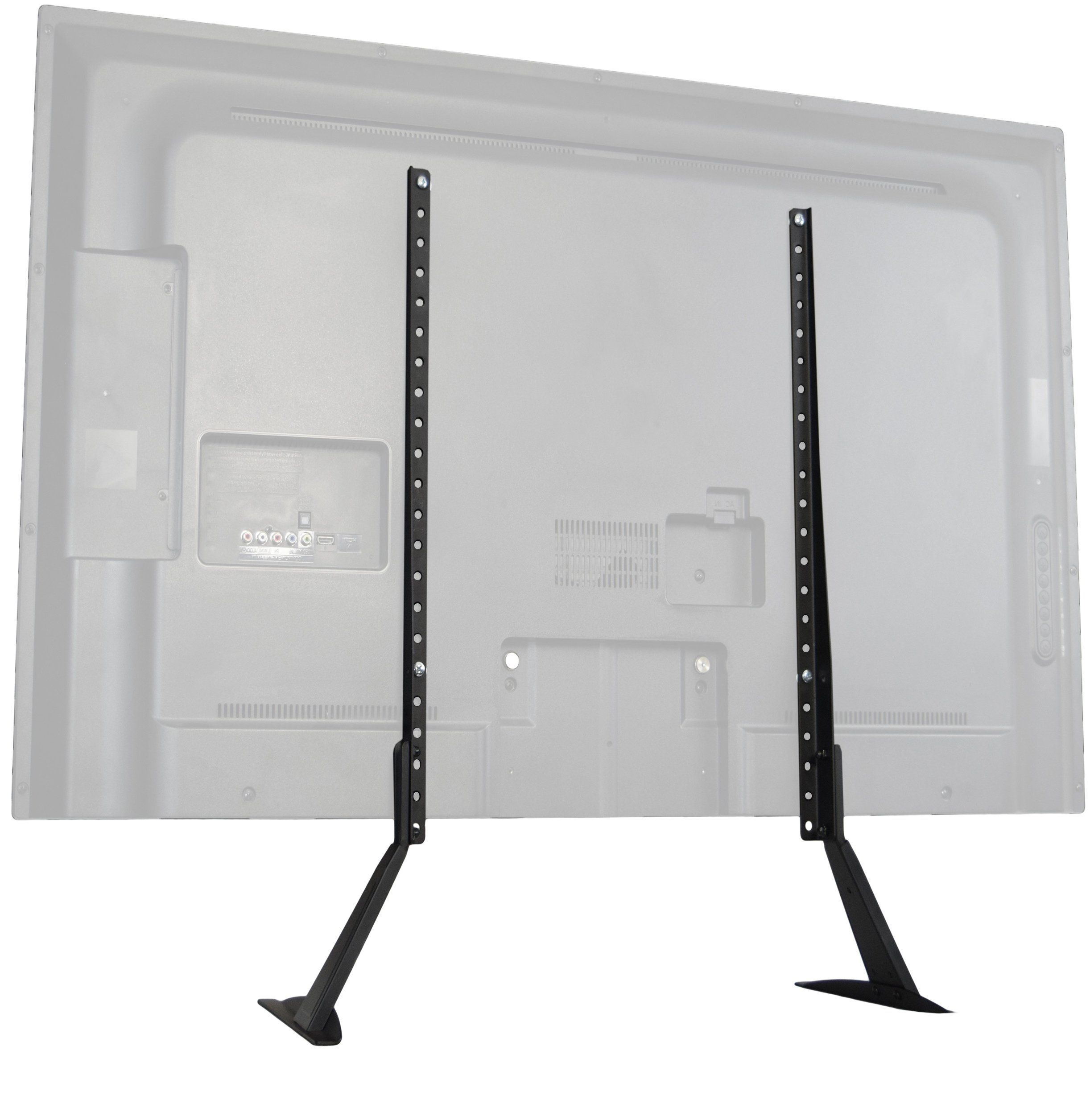 "VIVO Universal LCD Flat Screen TV Table Top Stand / Base Mount fits 27"" to 55"" T.V. (STAND-TV00T)"