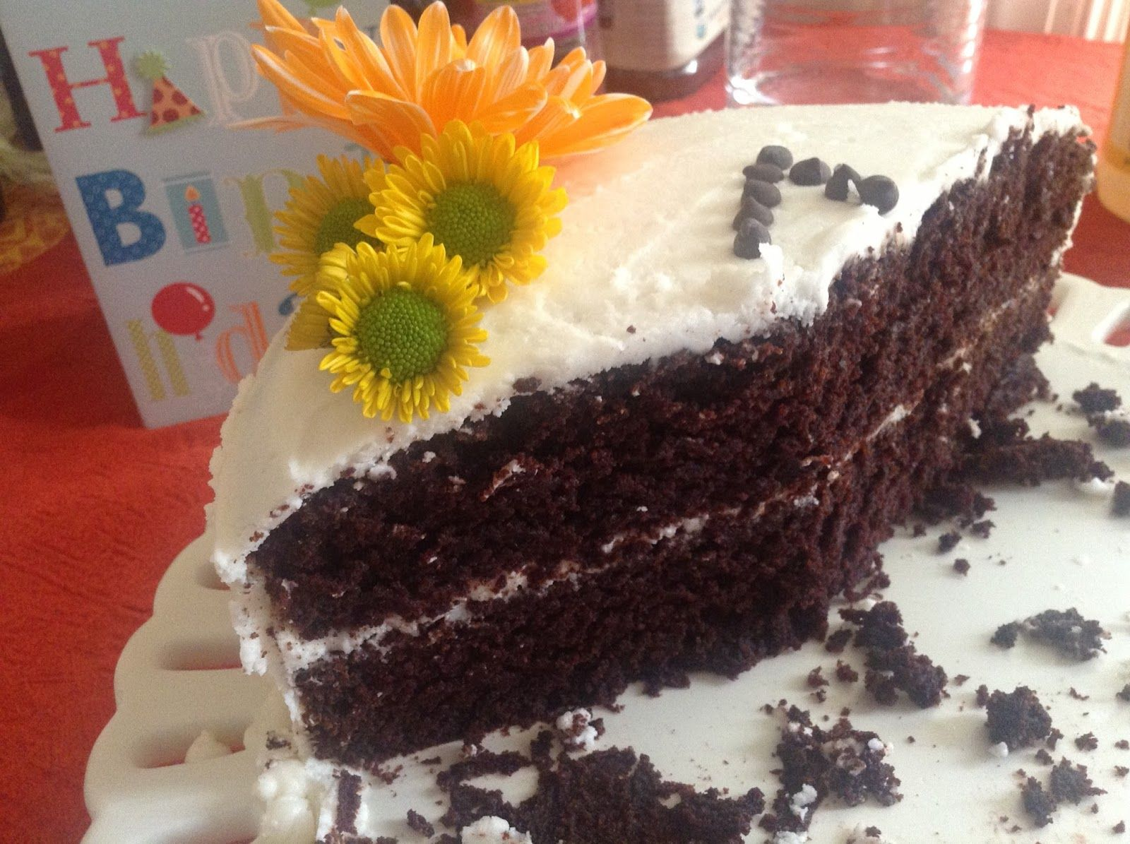 First Birthday Party Chocolate Cake Free of Top 8 Food Allergens