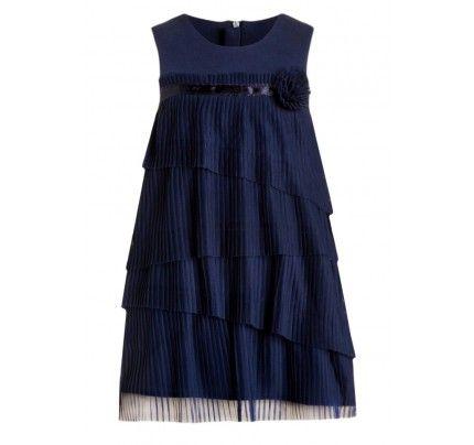 873da67bc1c Pampolina Cocktailkleid   festliches Kleid tintenblau ...