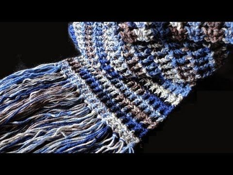 Episode 5 How To Crochet The Tweedy Puff Stitch Scarf Youtube