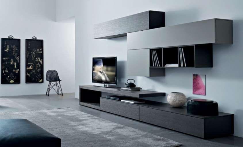 Abbinare il grigio alle pareti Arredamento soggiorno