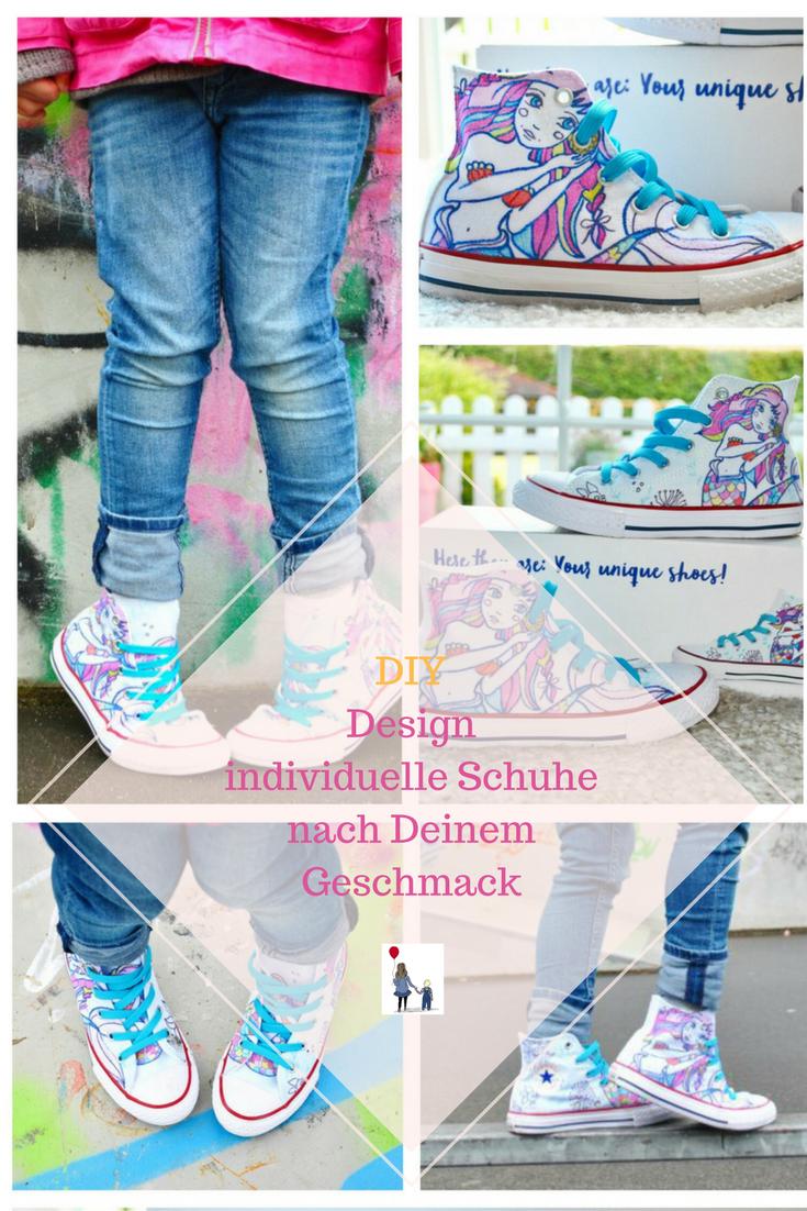 Design Deine eigenen Schuhe! Coole Converse für Kinder