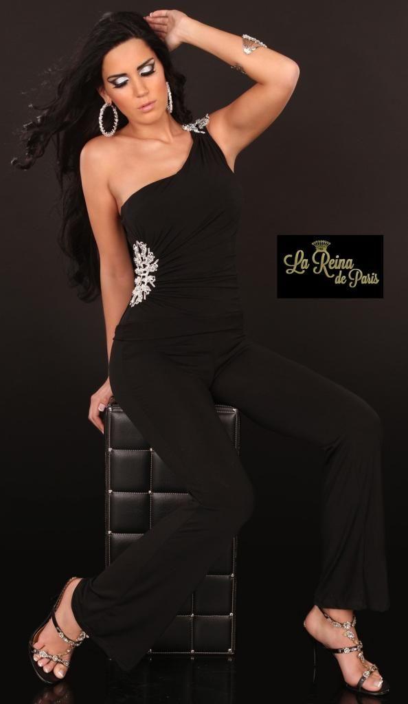 74b7fb1bb570 Pin de La Reina de Paris en Monos de moda | Monos de vestir, Mono ...