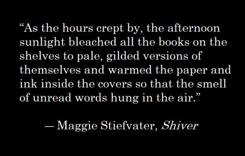 Maggie Stiefvater, Shiver