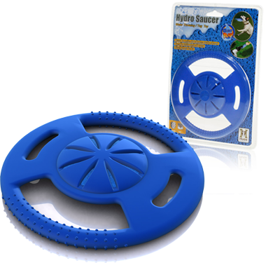 Hydro Saucer Dog Toy Squirts Water When Caught16.95