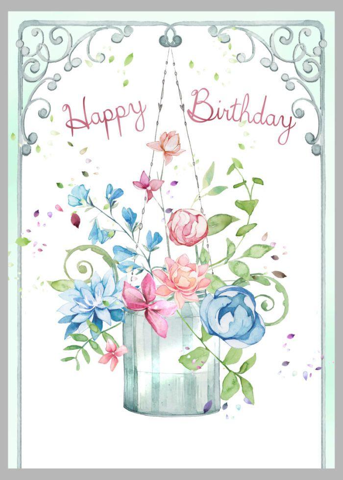 Pin Von Elvira Tangredi Auf Happy Birthday Geburtstag