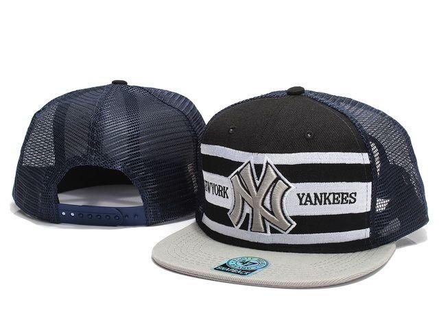 new high pretty cool pretty cool New Era MLB New York Yankees Snapback Hats Caps Mesh Black 47 ...