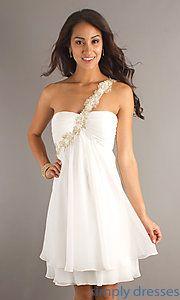 Shop one-shoulder short prom dresses and short party dresses at Simply  Dresses. Dresses for junior-proms a71981dd3
