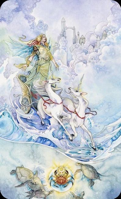 Tarot El Carro Interpretación Recomendaciones Gratis Tarot Art Pagan Art Fairytale Illustration