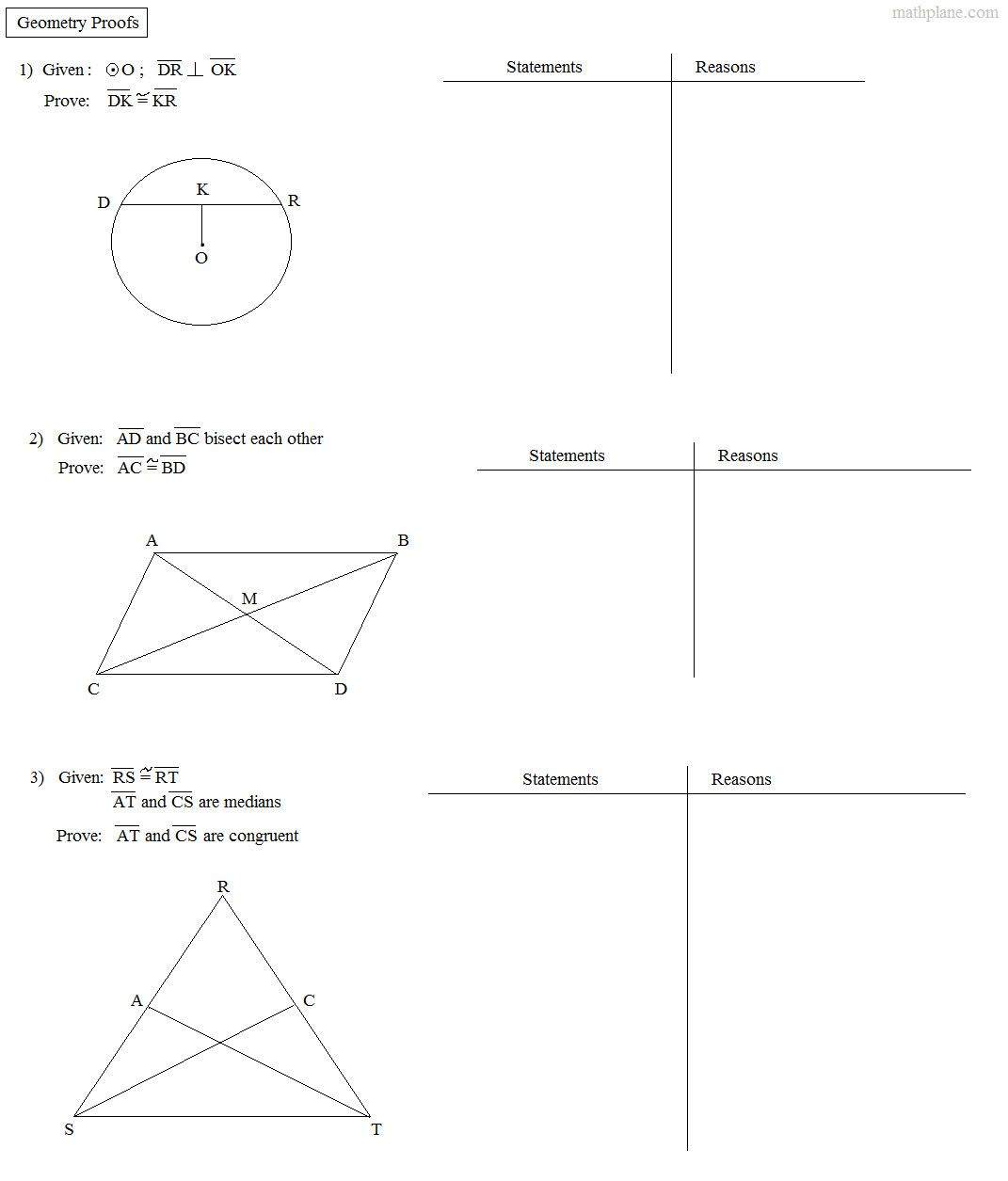 Triangle Congruence Practice Worksheet In
