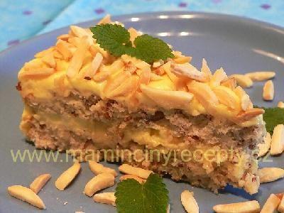 Švédský mandlový dort (bezlepkový)