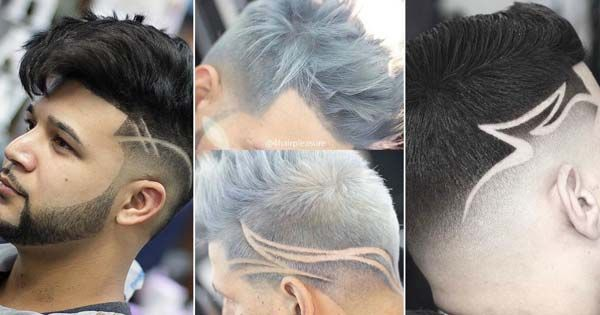 Cortes de cabello sin raya