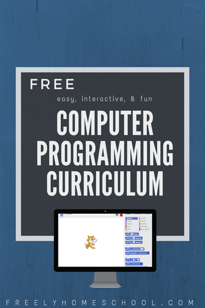 Free Computer Programming Course for Elementary, Middle, and High