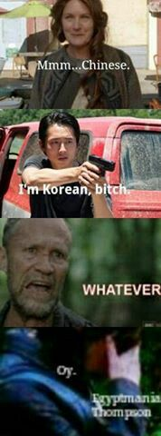 One of my many TWD memes