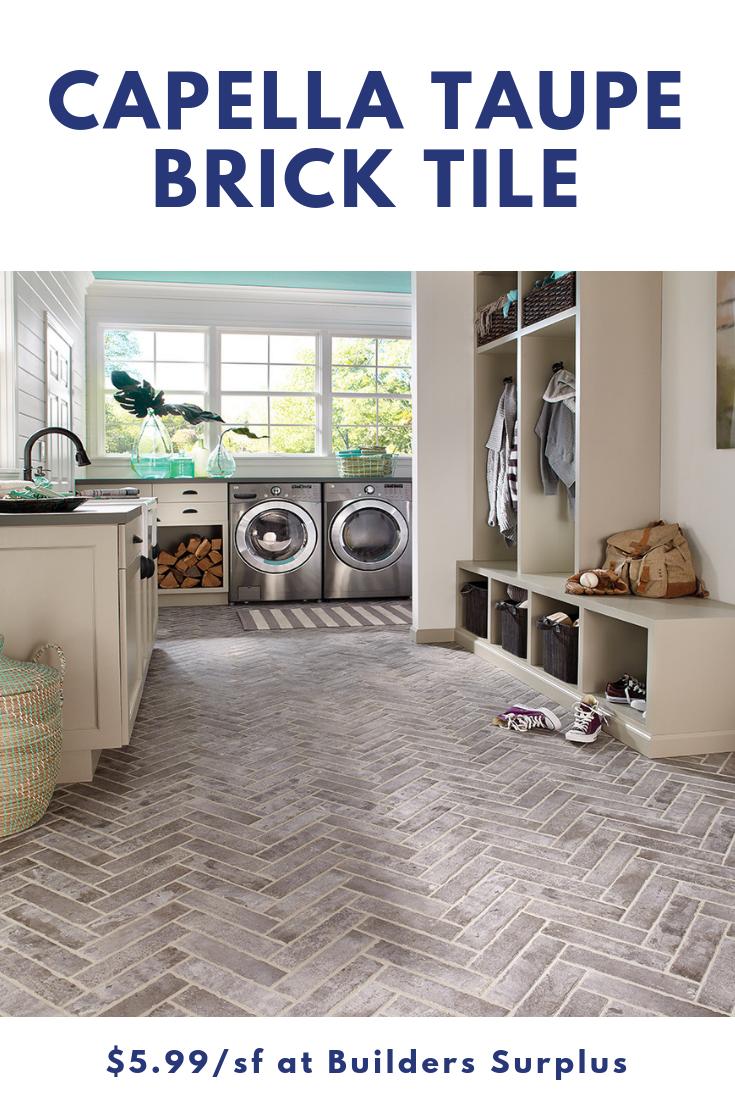2 x 10 Capella Taupe Brick Tile in 2019 | Tile Sensation | Brick