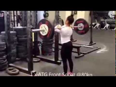17 YEAR OLD FEMALE CROSSFIT ATHLETE - female motivation- Norsk fra Bergen!!