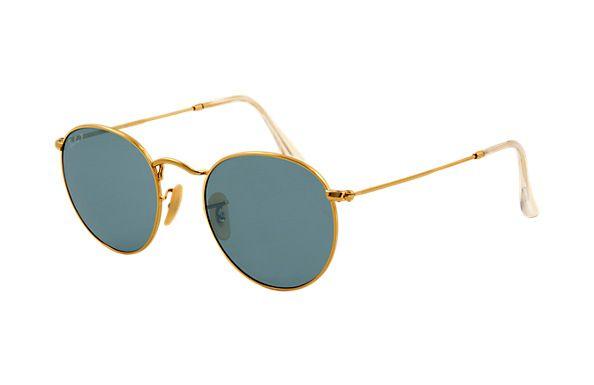 fd4de6a667 Ray-Ban RB3447 Round Metal Sunglasses