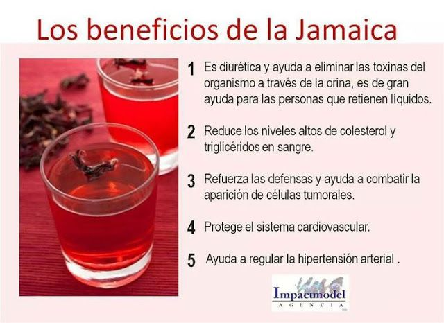 Agua de jamaica y perejil para adelgazar