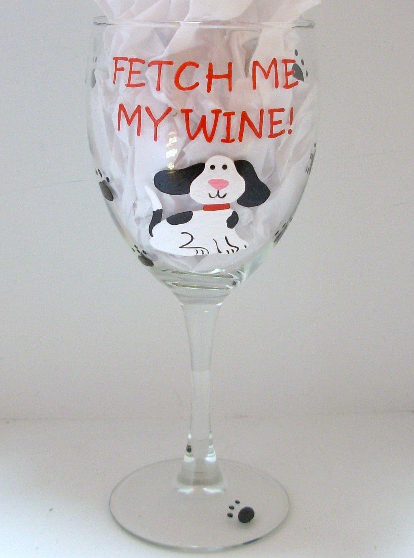 dog wine glasses