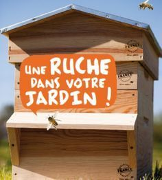 installer une ruche dans son jardin conseils et astuces bioaddict abeilles pinterest. Black Bedroom Furniture Sets. Home Design Ideas