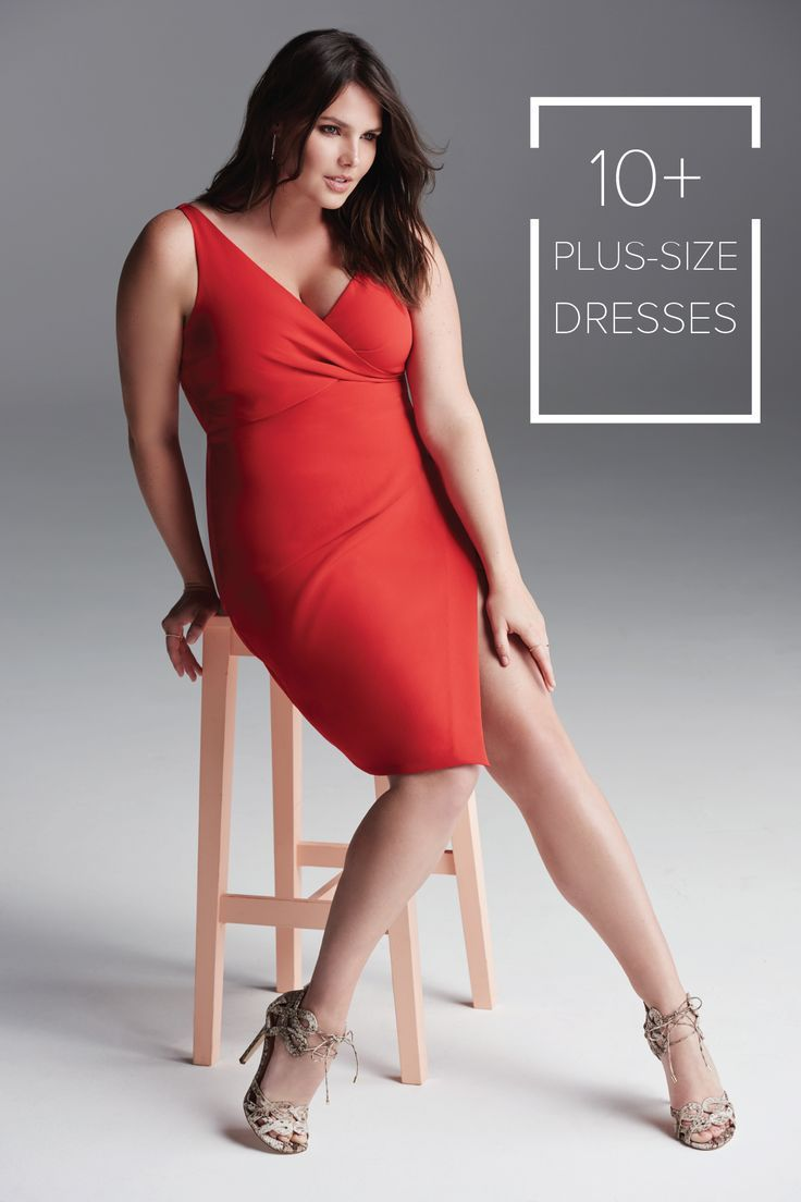 We\'ve got race day dresses at every size. This stylish red dress is ...
