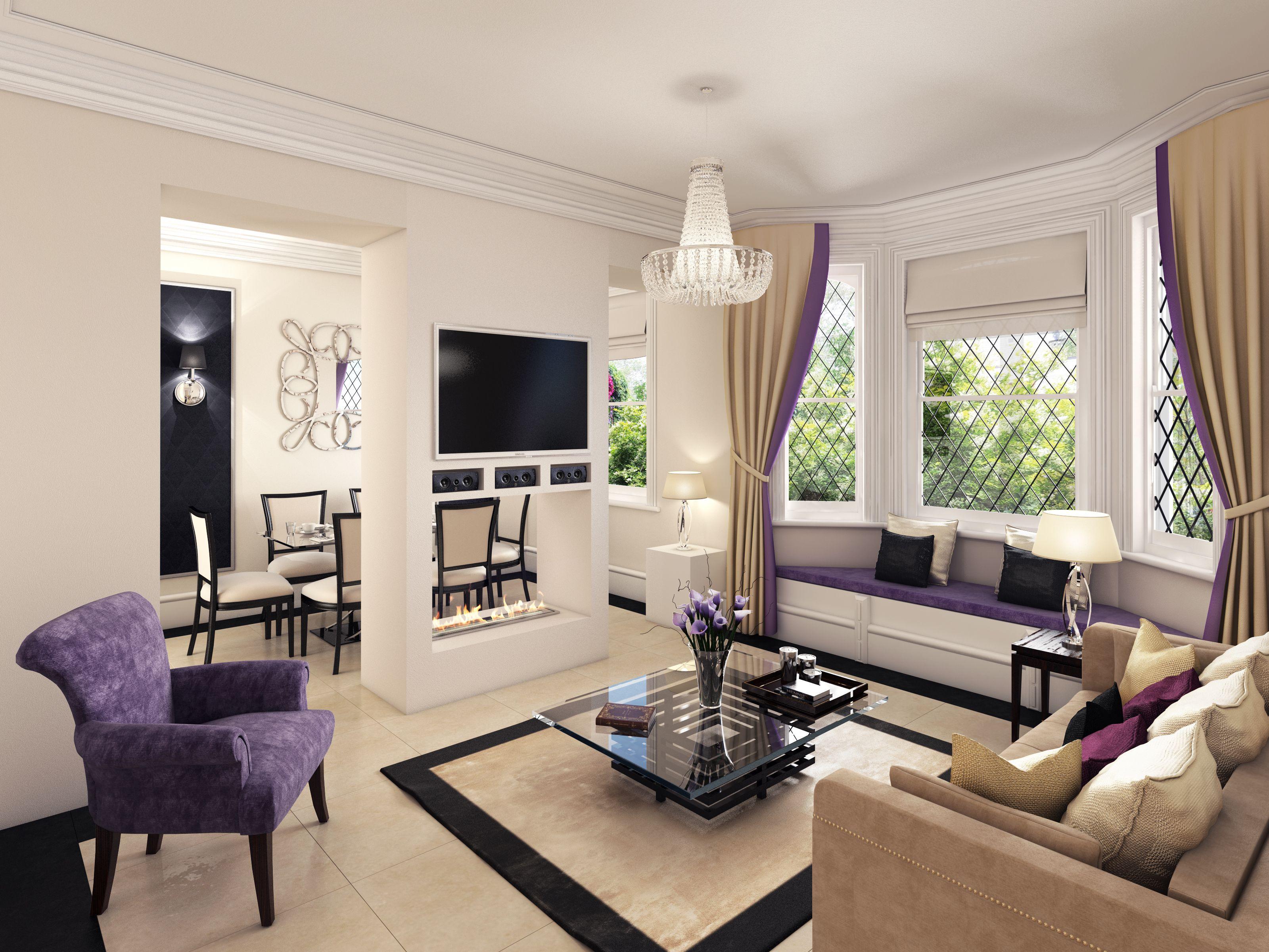 1.61 London - Luxury reception room design | Luxury ...