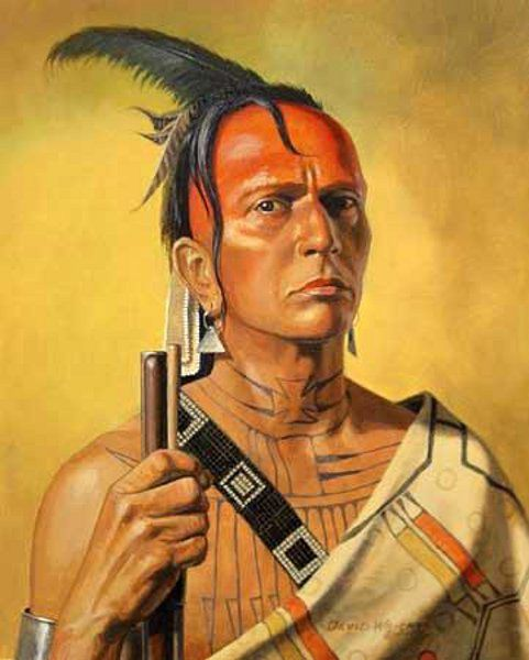 Cherokee by David Wright.