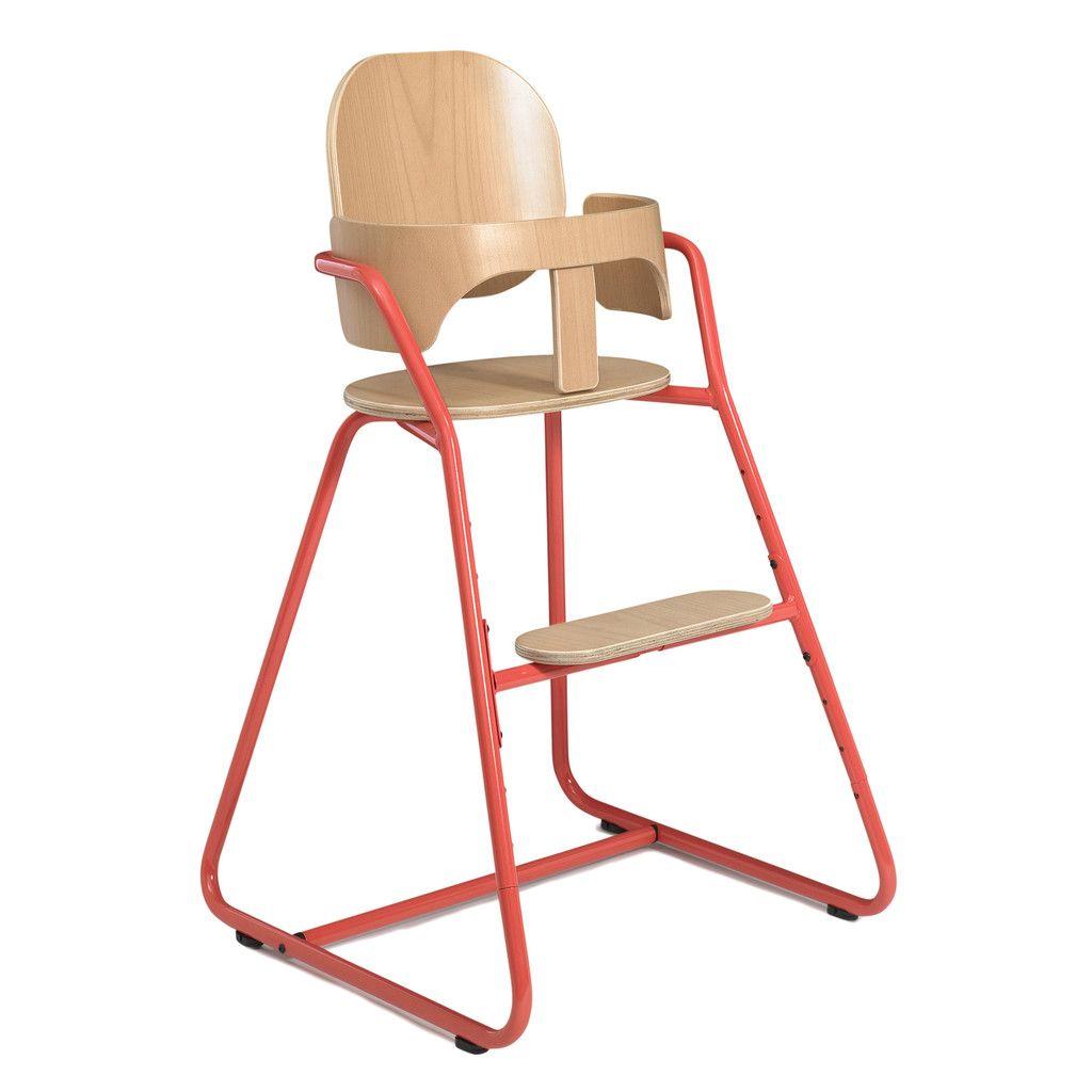 Chaise Haute Bebe Evolutive Design Tibu Rouge High Chair Tibu Baby High Chair
