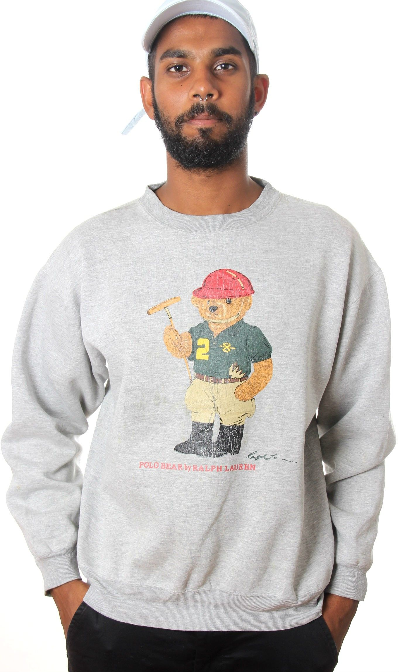 8b9cc9a16ed Mens Ralph Lauren Polo Shirt With Bear Logo - SIS Solutions