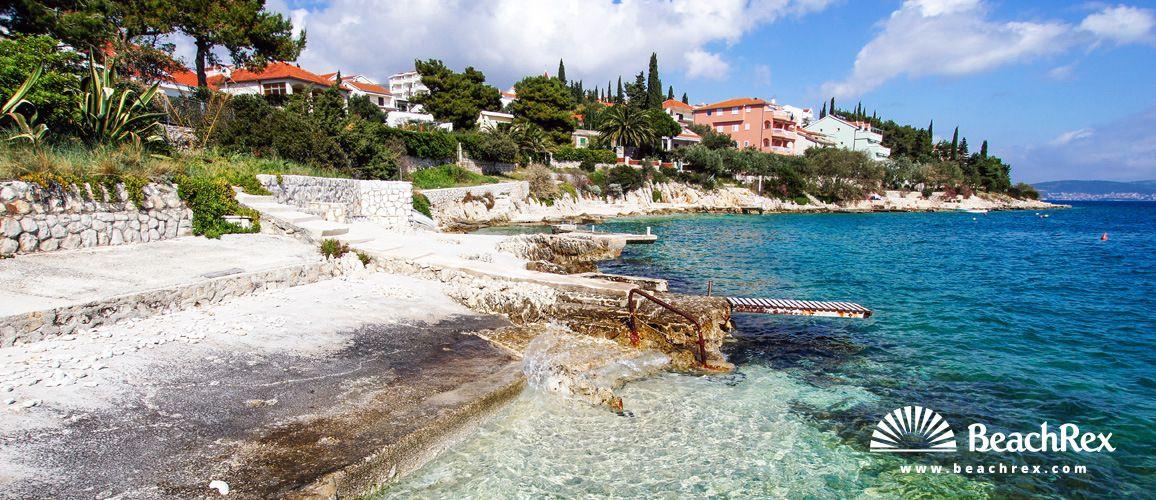Beach Sedlo Seget Vranjica Dalmatia Split Croatia Croatia Beach Croatia Beach