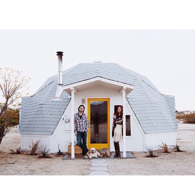 Dome House Futuristic: Small, Circular House Via